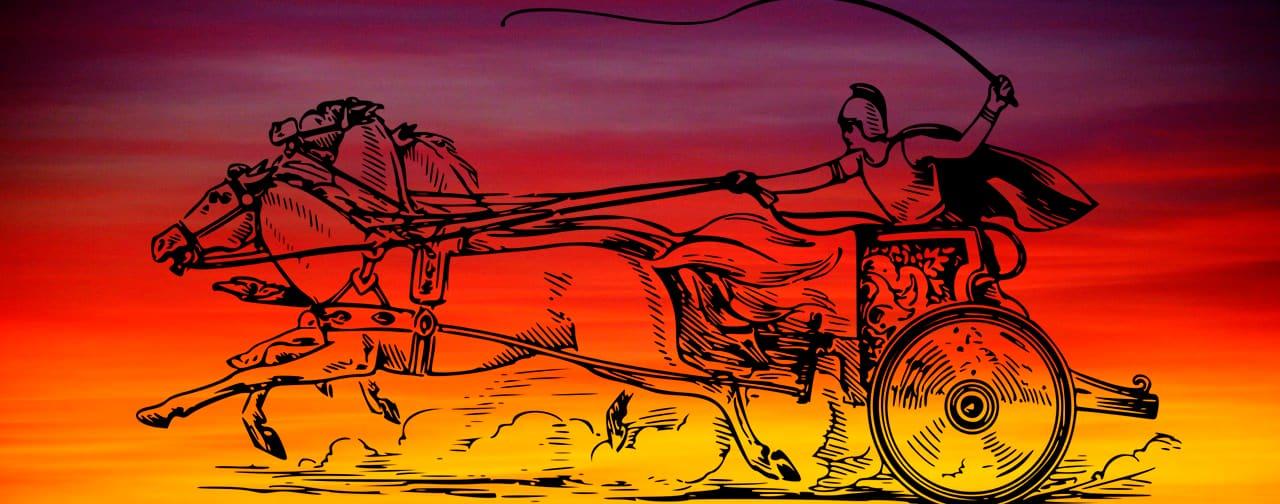 Faeton y el carro del Sol