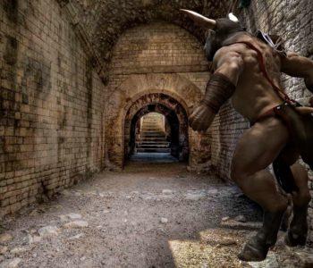 La entrada al laberinto del Minotauro
