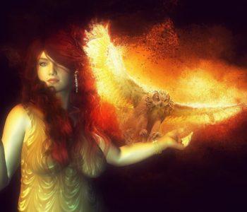 La diosa del hogar Hestia
