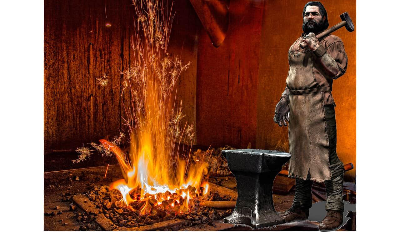 Hefesto dios del fuego