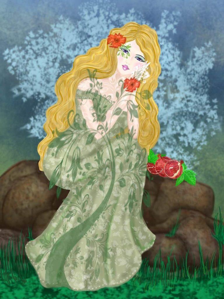 Perséfone reina del inframundo